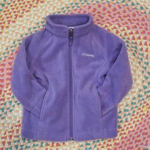 Baby Girl Columbia Fleece